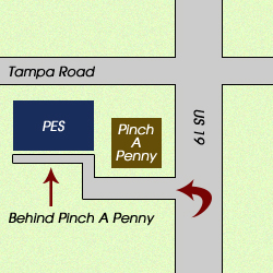 Pinellas Electric Supply Contact Us - Map of us 19 north of tampa road